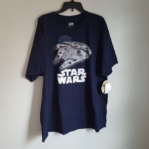 NWT Navy Star Wars T-Shirt